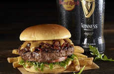 Boozy Irish Burgers - This St. Patrick's Day Burger is Infused with Guinness and Jameson
