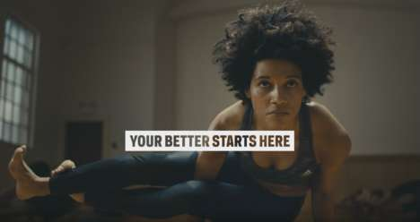 Uplifting Sportswear Ads - Sport Chek's Newest Workout Commercial Connects with Female Yogis
