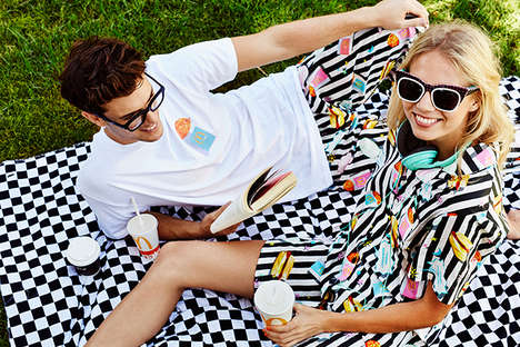 Charitable Fast Food Fashion - McDonald's Australia and Emma Mulholland Collaborate on a New Range