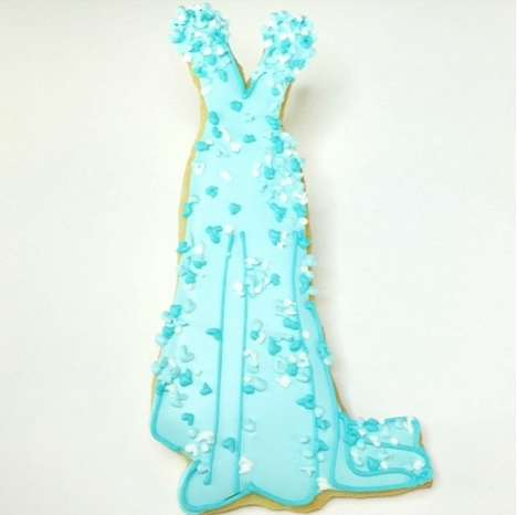 Award Gown Cookies - Pattie Paige Created Cookie Copies of the Gowns Seen on the Oscar's Red Carpet