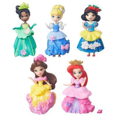 Customizable Toy Figurines - The Disney Princess Little Kingdom Royal Sparkle Collection is Petite