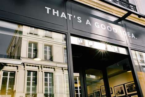 Short-Term Retail Agency Pop-Ups - The Appear Here Paris Highlights the Brand's Unique B2B Platform