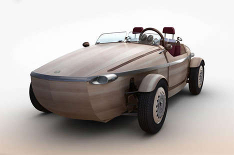 Conceptual Wooden Vehicles - The Toyota Setsuna will Debut at Milan Design Week in April