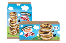 Swirled Ice Cream Sandwiches - The New Ben & Jerry's 'Wich Range is Designed for the Summer Months