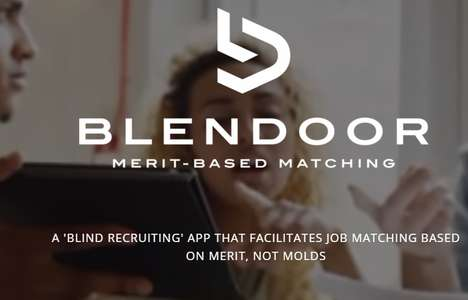 Blind Job Matching Apps - The Blendoor Apps Removes Your Face and Name From the Application Process