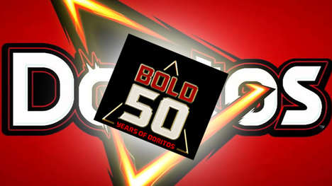 Record-Setting Chip Campaigns - The 'Bold 50' Campaign Celebrates Doritos' 50th Anniversary