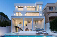 Comprehensive Modern Homes - The Los Angeles House is Typical of the LA Lifestyle