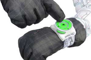 The 'YodelUP' Smart Ski Watch Can be Controlled with Gloved Fingers