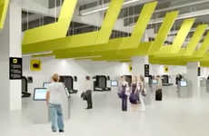 Sophisticated Self-Service Airports - Melbourne Airport Debuts a High-Tech Self Service Terminal