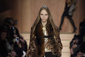 The Givenchy Fall/Winter Collection Promotes Exotic Styling