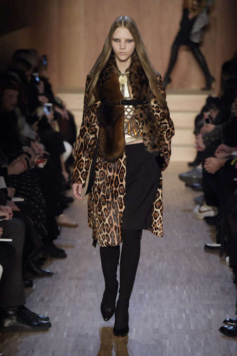 Lush Egyptian-Themed Couture - The Givenchy Fall/Winter Collection Promotes Exotic Styling