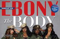 Body Positive Magazine Covers - 'The Body Brigade' Issue of Ebony Magazine Touches on Body Image