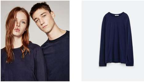 Unisex Fast Fashion Lines - The Zara Ungendered Collection Offers Stylish Unisex Wears