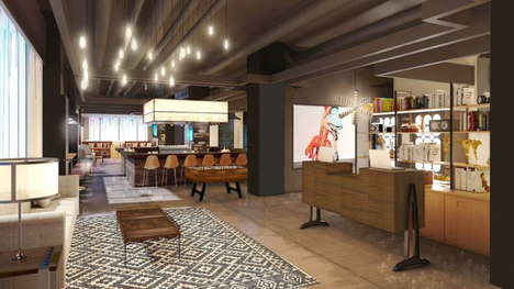 Millennial Hotel Concepts - Marriot International's New Moxy Hotels Brand Image Targets Millennials