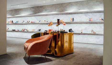 Lifestyle-Oriented Retail Beacons - The New Barney's Manhattan Store Offers Shoppers Holistic Advice