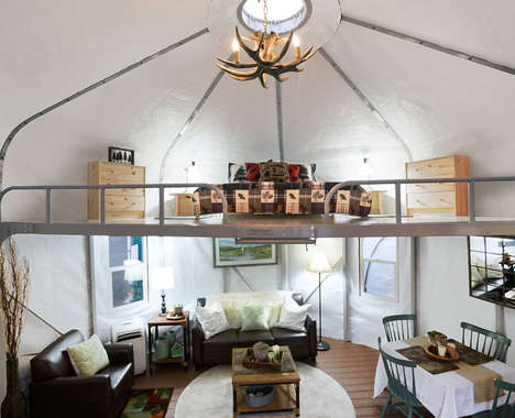 Comfortable Glamping Yurts