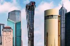 Serpent-Shaped Skyscrapers - The Asian Cobra Tower is Designed By Vasily Klyukin