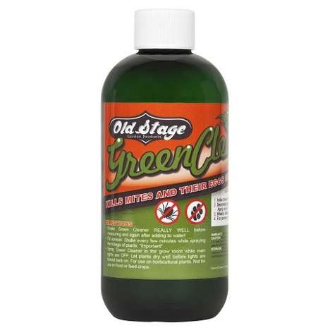Clean Pesticide Concentrates - 'Green Cleaner' Kills Pests and Leaves Beneficial Insects Unharmed