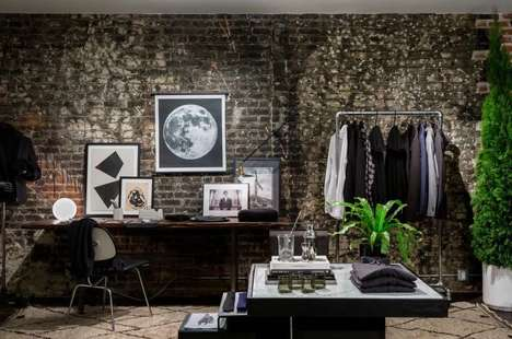 Holiday Menswear Pop-Ups - The BESPOKEN x TRNK Activation Targets Fashion-Forward Urbanites