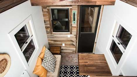Tiered Tiny Homes - These Tiny Homes Can Be Tailored Towards Different Levels of Builder Skill-Sets