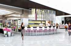 High-End Food Halls - The Saks Food Hall by Pusateri's Features a Prosciutto and Champagne Bar