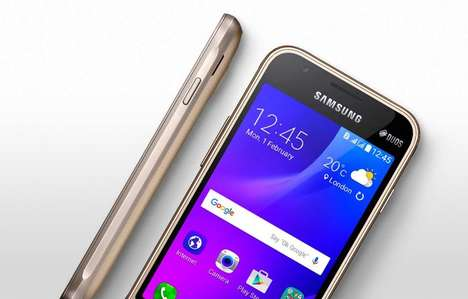 Compact Budget Smartphones - The Samsung Galaxy J1 Mini is a Capable Yet Affordable New Device