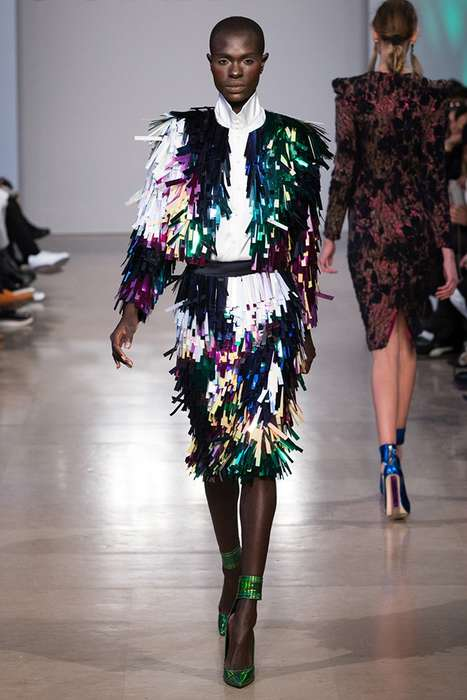Exotic Couture Runways - The Latest Sorapol Collection Highlights Eccentric Design Details