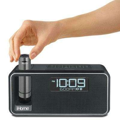 Bluetooth Bedside Clocks - The iHome Stereo Alarm Clock Features a Portable USB Charger Within
