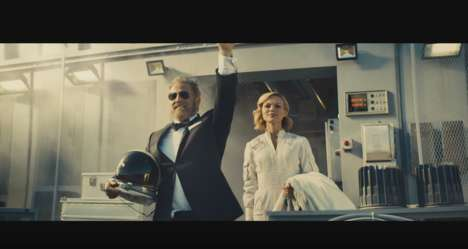 Adventurous Astronaut Commercials - Dos Equis Sends the Most Interesting Man in the World to Space