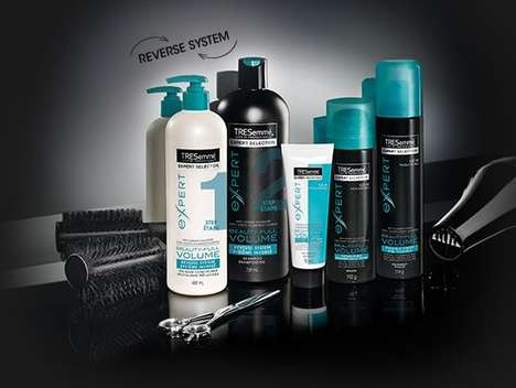Voluminous Reverse Wash Haircare - The TRESemmé Beauty-Full Volume System is Game-Changing