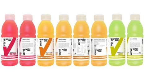 Calcium-Enriched Beverages - Verve Water Plus Iced Tea is a Vitamin Enriched Drink with Benefits