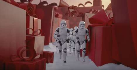 Sci-Fi Holiday Campaigns - This Target Holiday Commercial Targets Star Wars Fans