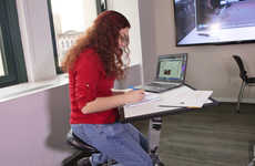Comprehensive Work Desks - The Edge Desk is a Compact Solution for Modern Work Life