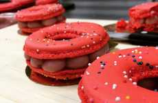 Hybrid Donut Macarons - The 'Macaronut' is a Cross Between Two Different Pastries