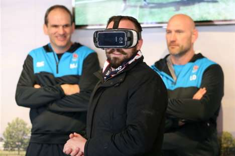 Rugby Championship VR Events - The 'School of Rugby' Experience by Samsung is Back for Six Nations