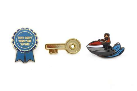 DJ-Inspired Pins - PINTRILL Released a DJ Khaled Pin Pack