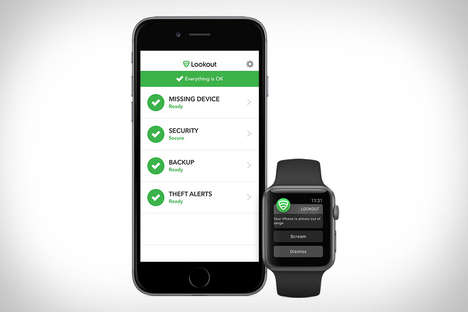 Security Smartphone Platforms - The Lookout App Monitors Device Safety with Software Alerts