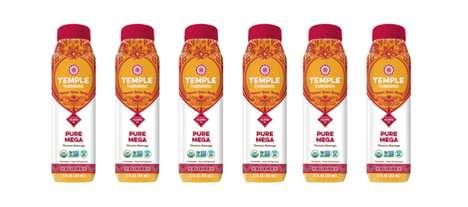 Turmeric Citrus Tonics - The Temple Tumeric Pure Mega Beverage Revitalizes the Body with Spices
