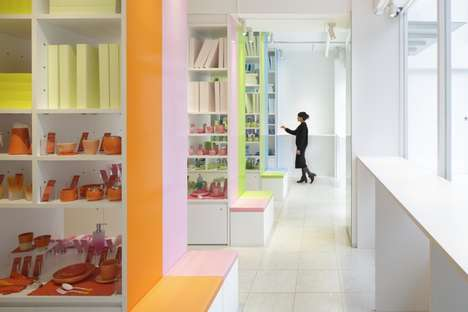 Color-Coordinated Design Stores - The CORAZYs Store in Tokyo is a Library of Decor Items