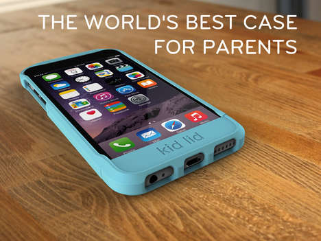 Child-Proof Phone Cases - This Kid Lid Phone Case Keeps Tykes from Switching Apps