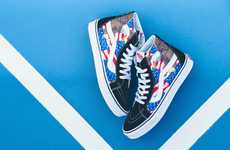Patriotic Skate Shoes - Vans' 'American Freedom' Pack Celebrates the Land of the Free