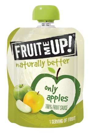 Fruit Puree Pouches - 'Fruit Me Up!' Fruit Purees Contain No More Than Four Ingredients
