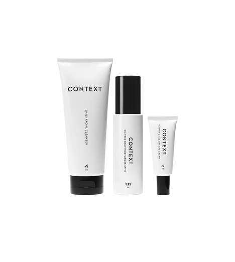 Calming Skincare Systems - The Calm & Clear Set from CONTEXT is for Men and Women