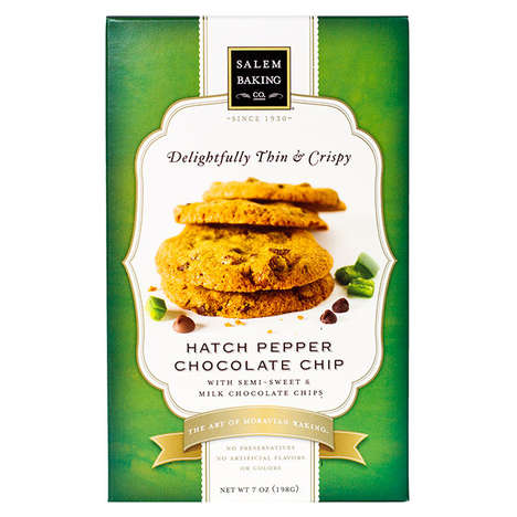 Spicy Chocolate Cookies - Salem Baking Co. Uses Hatch Peppers in Its Spicy Chocolate Chip Cookies