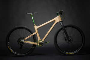 Grainworks Bicycles are Crafted from Beautiful Wood