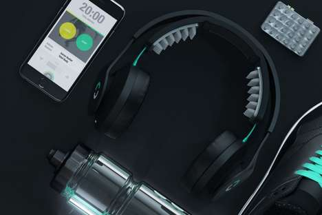 Priming Fitness Headphones - The Halo Sport Stimulate the Brain for a More Effective Workout