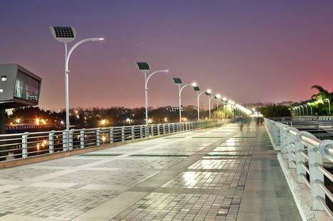 Footstep-Powered Lampposts - The 'EnGoPLANET' Street Light Design is Headed to Las Vegas