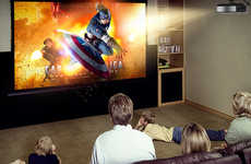 3D Home Theaters - The JmGO Smart Projector Offers an Immersive Cinema Experience at Home