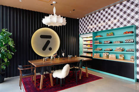 Eclectic Hotel Chain Debuts - The Cloud 7 Hotel in Istanbul Boasts an Ultramodern Interior