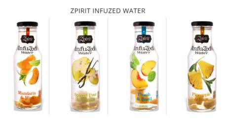 Herbal Fruit Water - Zpirit Specializes in Making Exotic Fruit-Infused Water